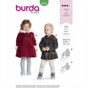 9329 Burda Pattern: Child's Coats